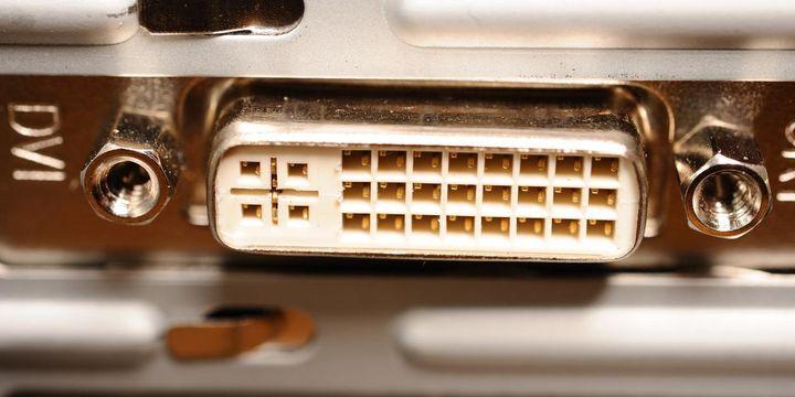 """DVI steht für """"Digital Visual Interface"""" und verbindet den Computer mit digitalen LCD-Bildschirmen."""