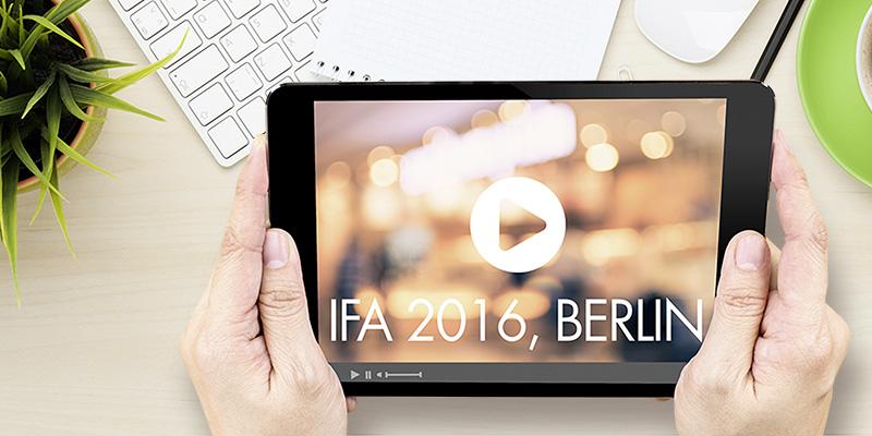 IFA 2016 - die mediamag.at-Videos