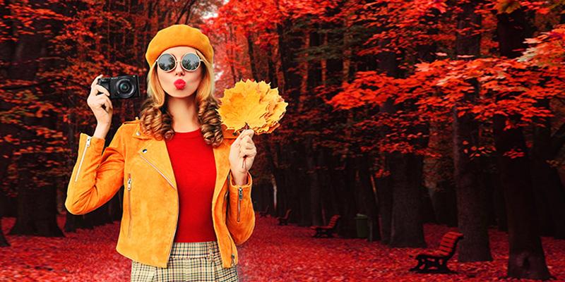 Fotospaß im Herbst.