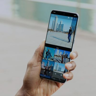 3 Smartphones mit Stereo-Lautsprechern