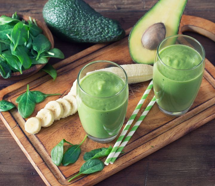 Avocado-Bananen-Smoothie.