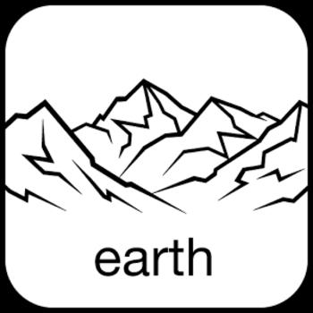 Winter- und Sommerabbildungen von Gipfeln