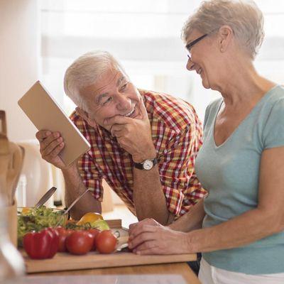 Senioren und Ernährung.