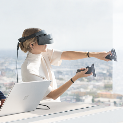 Die Technik der Mixed Reality-Brillen.