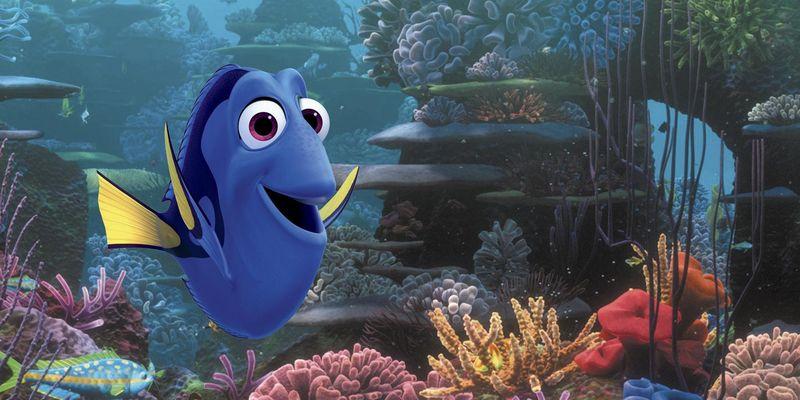 """Ab Herbst im Kino: """"Findet Dorie"""" die Fortsetzung von """"Findet Nemo""""."""