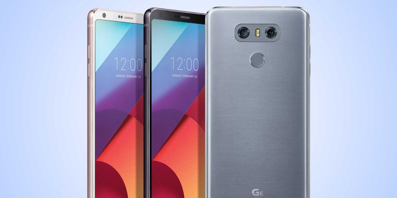 """Das """"LG G6"""" in voller Pracht."""
