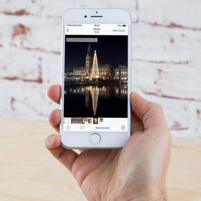 iOS 11: Fotos mit Langzeitbelichtung auf dem iPhone 8.