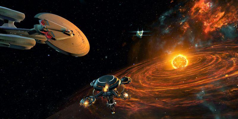 """Die unendlichen Weiten des Weltalls in """"Star Trek: Bridge Crew"""" erleben."""
