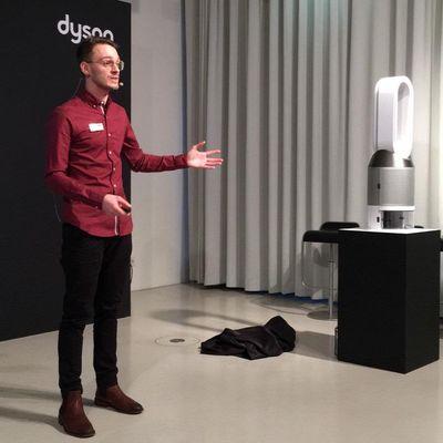 "Dyson stellt Luftbefeuchter ""Pure Humidify + Cool"" vor."