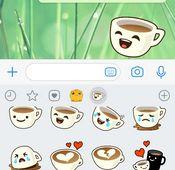 Sticker nach Update jetzt auch in WhatsApp-Chats verfügbar.