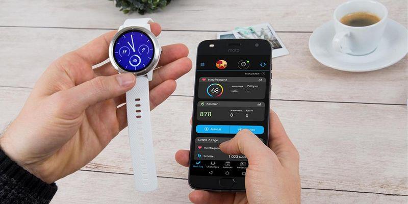 Die App zur Garmin vívoactive 3 im Fokus.