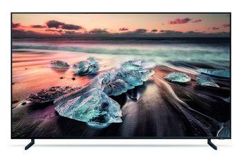 Der Flaggschiff-Fernseher von Samsung.