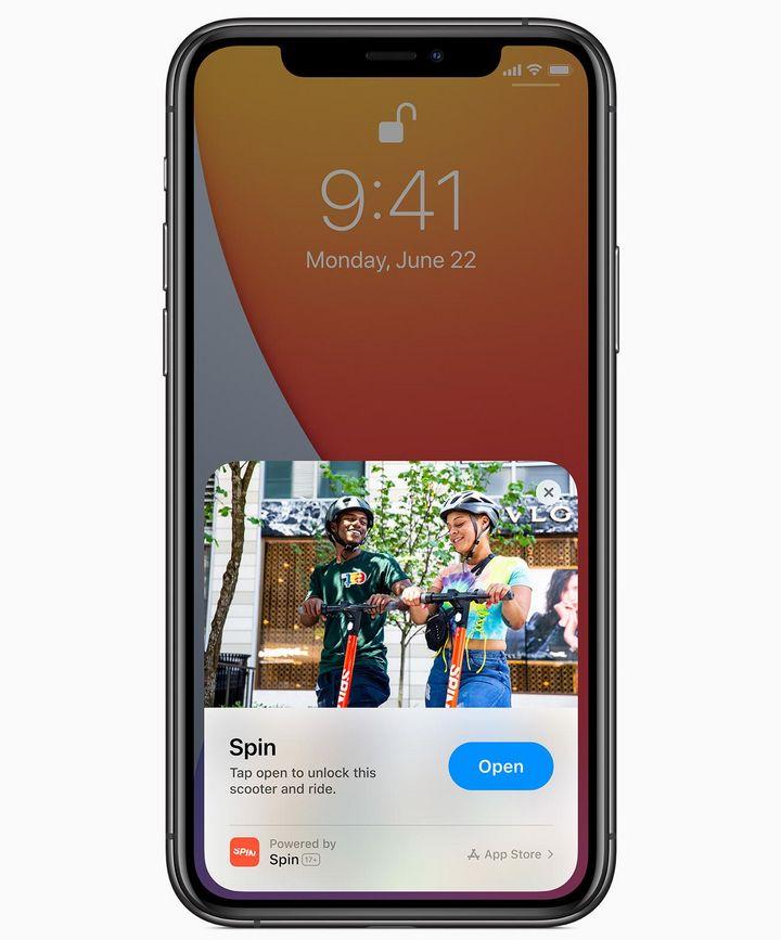 iOS 14: App-Clips