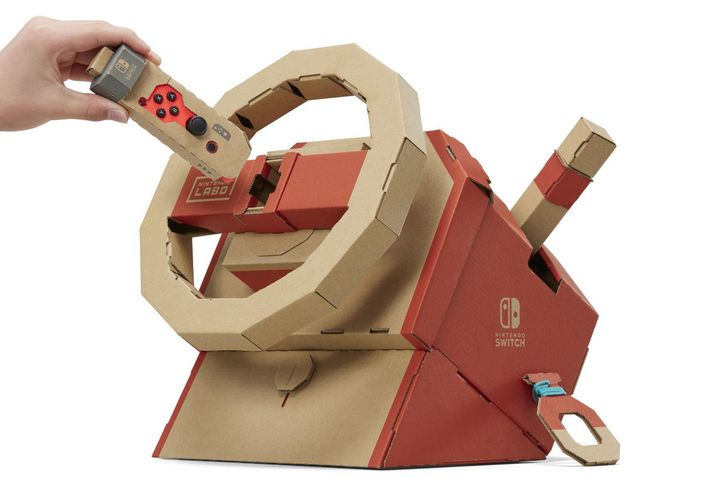 Nintendo-Fans dürfen wieder basteln.