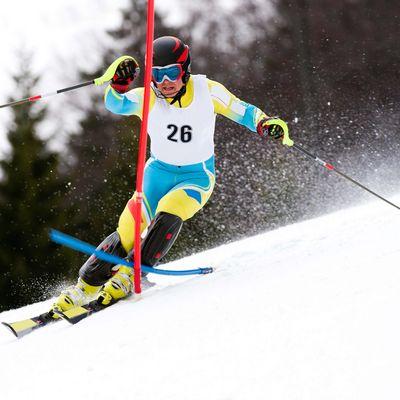 Slalomläufer Wengen
