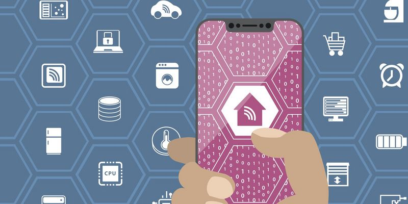 """Das Netzwerk im """"Connected Home"""" sorgt für Sicherheit und Bequemlichkeit."""