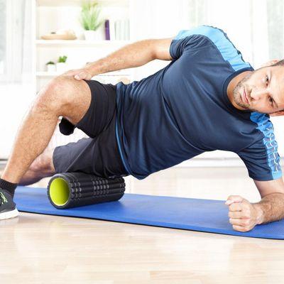 Faszien-Training funktioniert mit einfachen Hilfsmitteln.