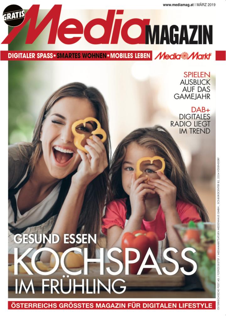 Das Mediamagazin im März 2019