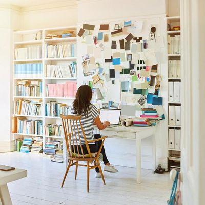 Viele arbeiten wieder im Home-Office.