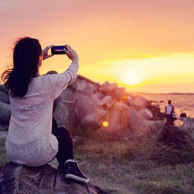 Sonnenuntergänge sind die perfekten Instagram-Motive.