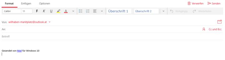 Die Mail-App von Windows 10 bietet alles für den optimalen digitalen E-Mail-Verkehr.
