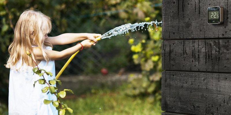 """""""Eve Degree""""-Wetterstation."""