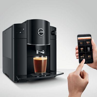 Die Jura D4 ist der perfekte Kaffeevollautomat für Espresso-Fans.