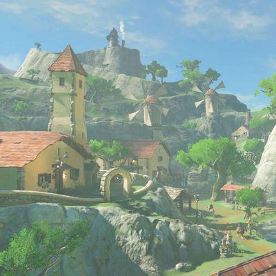 """So wunderschön ist die Welt von """"The Legend of Zelda: Breath of the Wild"""""""