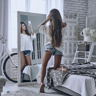 Selfie-Hack: Perfekte Spiegel-Fotos machen.
