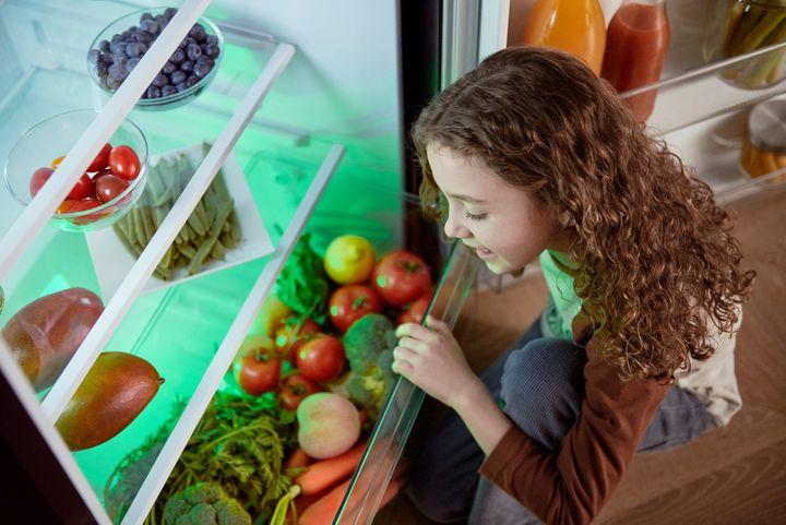 """Die """"Harvest Fresh""""-Technologie imitiert den natürlichen Lichtzyklus des Tages."""