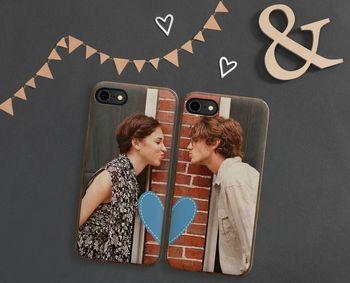 Romantik auf dem Smartphone: Handyhüllen können im MediaMarkt Fotoservice mit den Lieblingsfotos bedruckt werden.