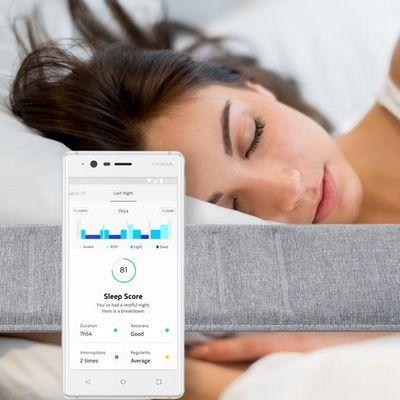 """Der neue Schlaftracker """"Nokia Sleep""""."""