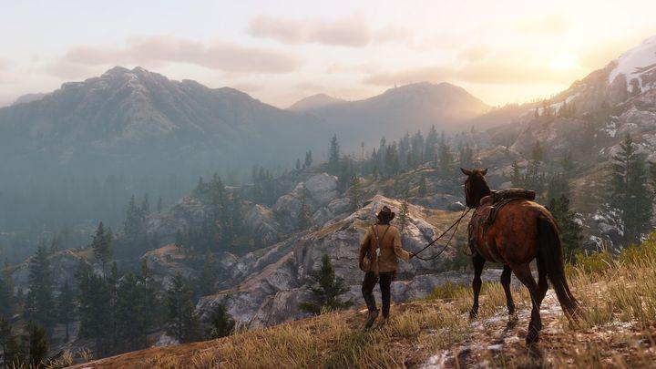"""""""Red Dead Redemption 2"""" bietet atemberaubende Schauplätze."""