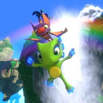 Yooka und Laylee stürzen sich ins Abenteuer!