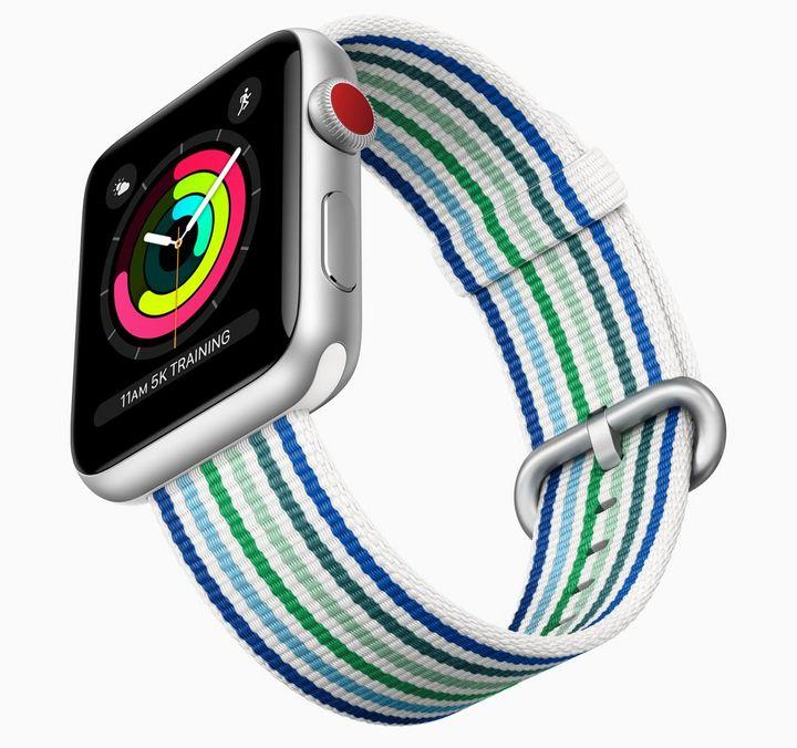 Apple Watch 3: Neue Armbänder in Frühlingsfarben.