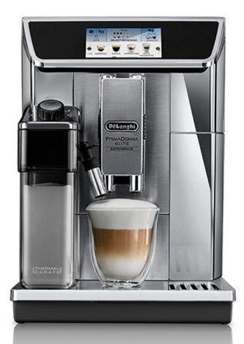 """Der Kaffeevollautomat """"PrimaDonna Elite Experience ECAM 650.85.MS"""" von De'Longhi."""
