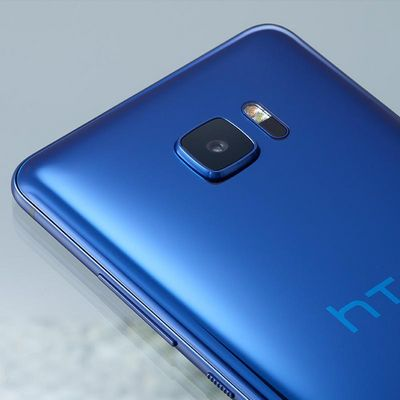 "Das ""HTC U Ultra"" mit ""Liquid Surface""-Oberfläche."