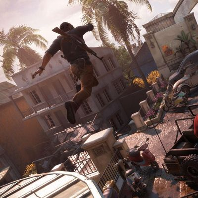 """Pure Action mit """"Uncharted 4""""."""