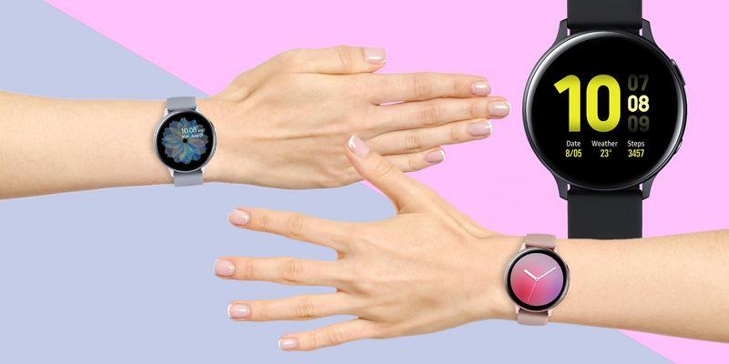 """Die neue Smartwatch """"Galaxy Watch Active2"""" von Samsung."""