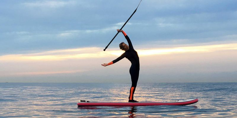 Stand-up-Paddling (SUP) liegt im Trend.