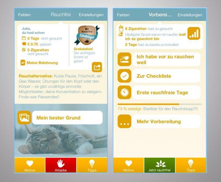 Leichter mit dem Rauchen aufhören mit diesen hilfreichen Apps.