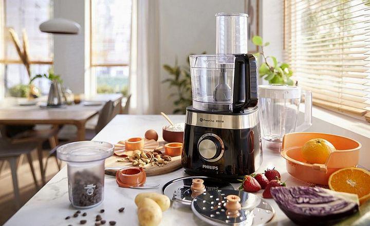 """Die """"Philips Viva Collection Küchenmaschine"""" beherrscht 31 verschiedene Funktionen"""