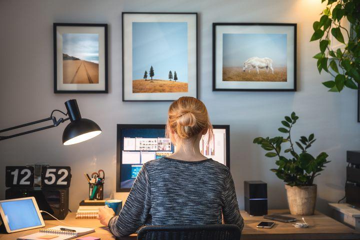 Ein heller Raum erhöht die Bildqualität.