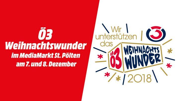 Ö3 Weihnachtswunder: MediaMarkt St. Pölten hilft