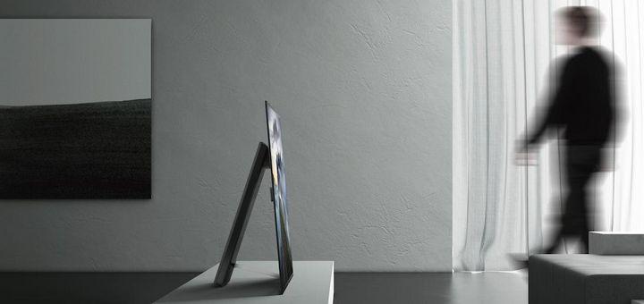OLED-Screens sind besonders flach.