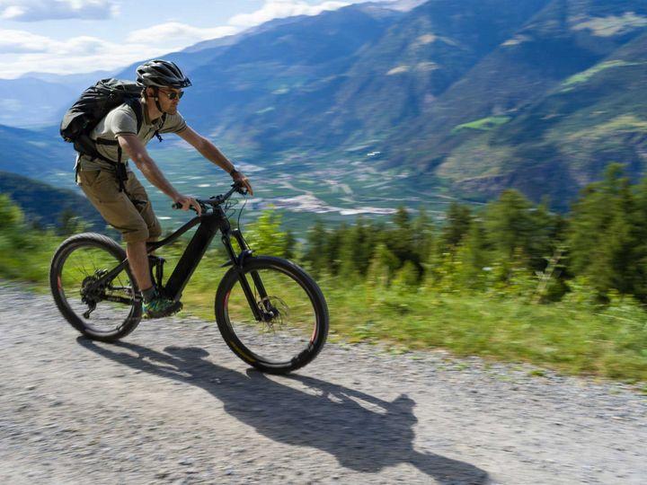 Stets gut ausgerüstet auf dem E-Bike.