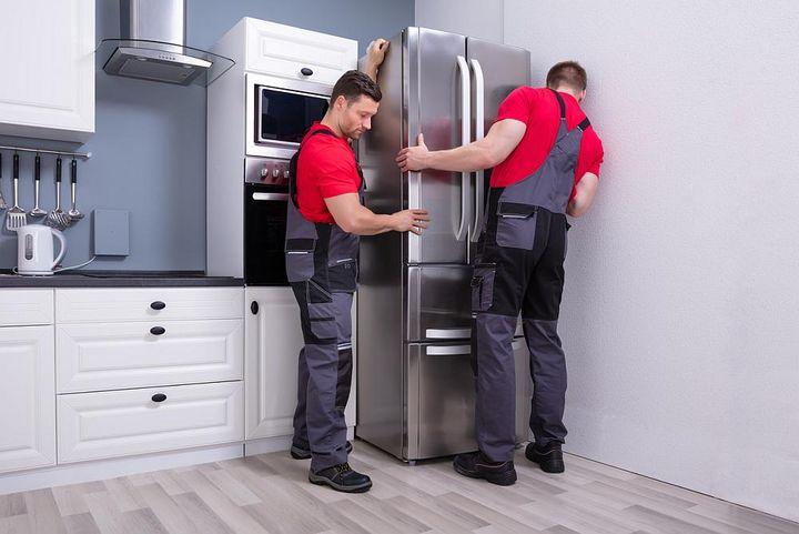 Den Kühlschrank richtig aufstellen.