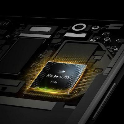 """Mit dem Prozessor """"Kirin 970"""" wird künstliche Intelligenz am Huawei Mate 10 Pro möglich."""