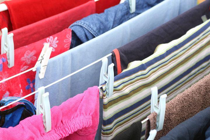 Wäscheständer für die Wohnung