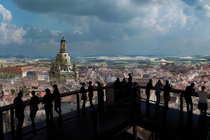 360-Grad-Monumentalpanoramen von Yadegar Asisi